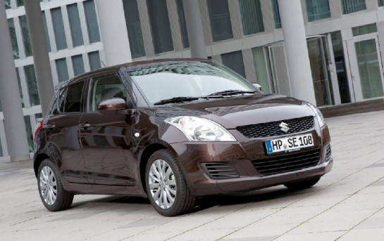 Suzuki Swift X TRA 1 545x343 at Suzuki Swift X TRA for Germany
