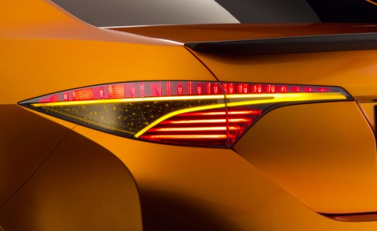 Toyota Furia Concept Teaser2 545x334 at Detroit Bound Toyota Furia Concept Teased Again