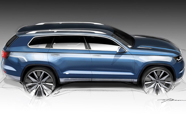 Naias 2013 Volkswagen 7 Seater Crossover Teaser