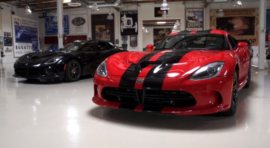Viper Jay Leno 545x299 at Jay Leno Test Dirves 2013 SRT Viper