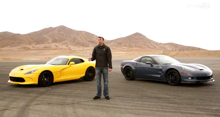 Burnout Battle: SRT Viper vs Corvette ZR1