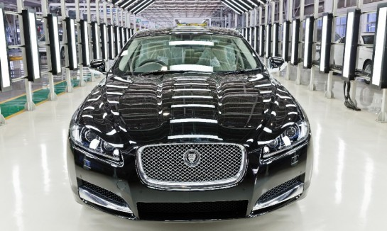 locally built Jaguar XF in India 545x326 at Locally built Jaguar XF Launched in India