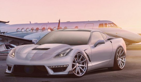stingray zr1 545x317 at Rendering: Corvette Stingray ZR1