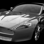 1rapidefront34 175x175 at 2009 Aston Martin Rapide   Official Image