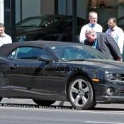 at 2011 Chevrolet Camaro Convertible Spyshots