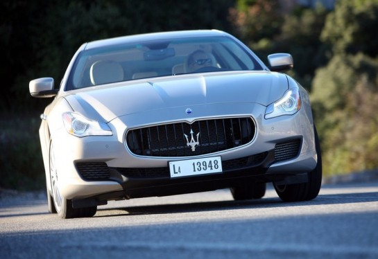 2013 Maserati Quattroporte 545x374 at 2013 Maserati Quattroporte at Nurburging   Video
