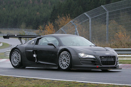 Audi R8 GT3 at N?村rburgring - pics aplenty