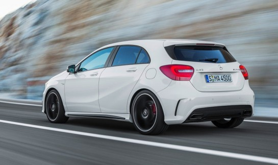 A45 AMG Driving Footage 545x323 at Mercedes A45 AMG Driving Footage & Exhaust Noise