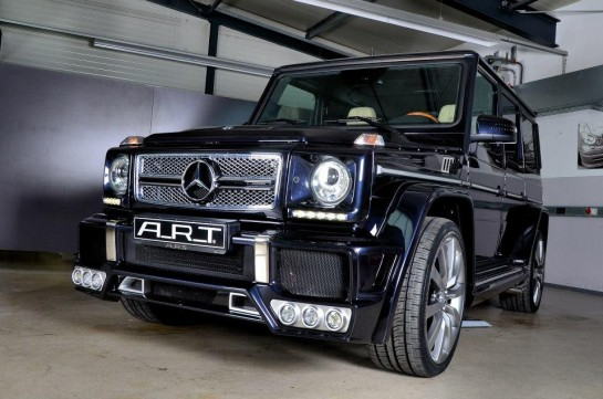 ART Mercedes Streetline 3 545x361 at Geneva Preview: ART Mercedes G63/G65 Streetline