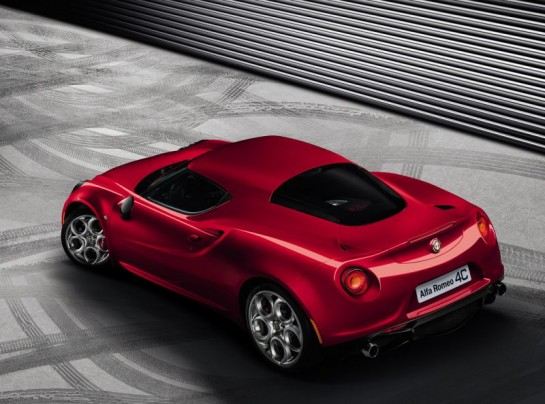Alfa Romeo 4C 2 545x404 at Alfa Romeo 4C   Production Version Revealed