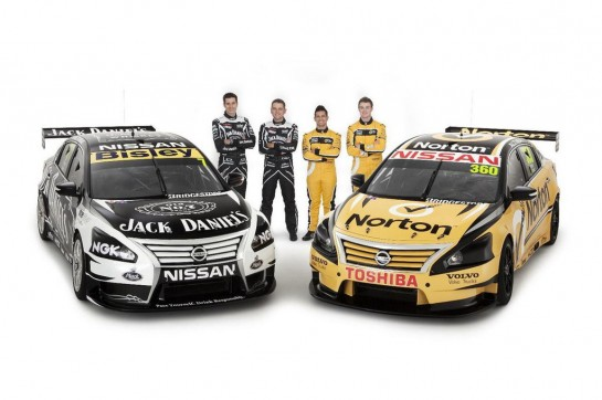 Altima V8 Supercars 545x362 at Nissan Altima V8 Supercars Racer Announced