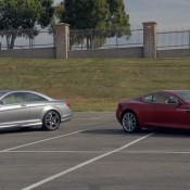 Aston Martin DB9 vs Mercedes Benz CL65 AMG 175x175 at Chris Harris Goes Ice Driving in 911 Rally Cars