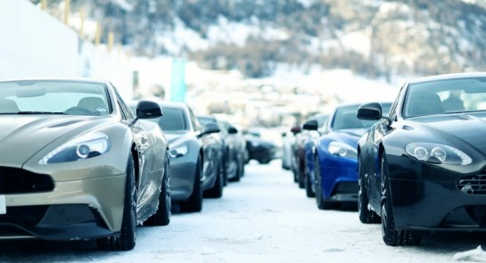 Aston Martin On Ice 545x295 at Aston Martin Winter Driving Experience Teaser Video