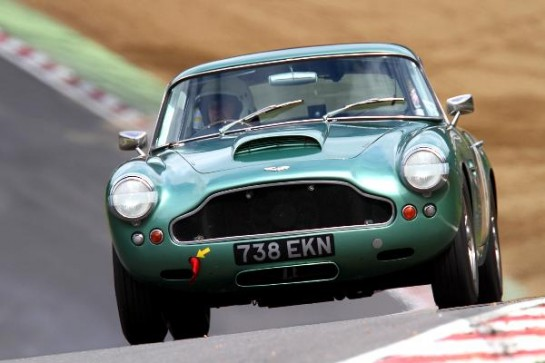 Aston Martin racing cars 2 545x363 at Aston Martin Centenary Race at Brands Hatch