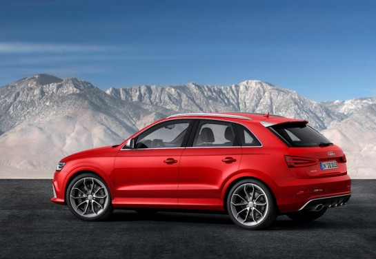Audi RS Q3 3 545x376 at Geneva Preview: Audi RS Q3 Revealed