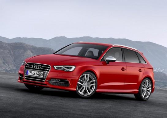 Audi S3 Sportback 1 545x385 at 2014 Audi S3 Sportback Unveiled