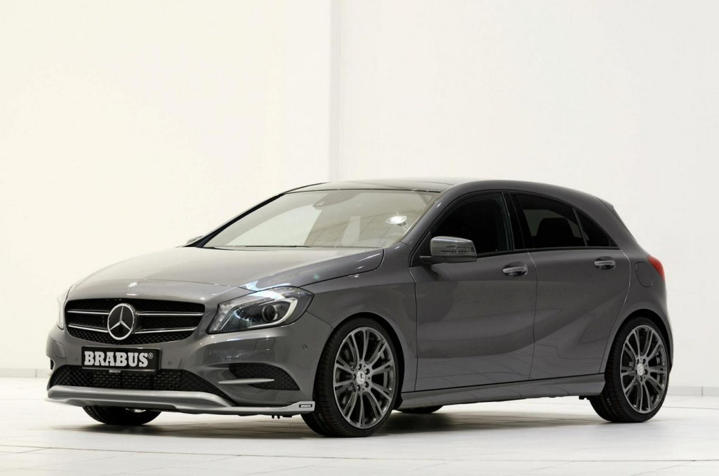 brabus mercedes a200 cdi revealed. Black Bedroom Furniture Sets. Home Design Ideas