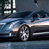 Cadillac ELR Convertible 175x175 at Rendering: Beetle inspired Bugatti Veyron
