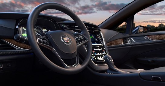 Cadillac ELR Interior 545x284 at Cadillac ELR Interior Features Highlighted in Video