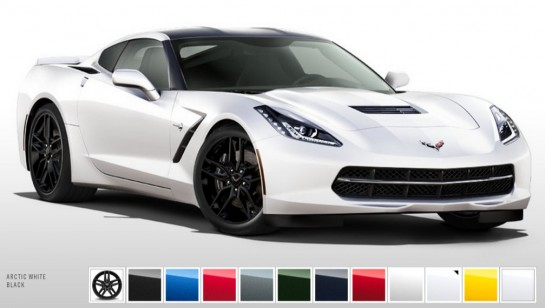 Corvette Color Configurator 545x308 at 2014 Corvette Color Configurator Launched