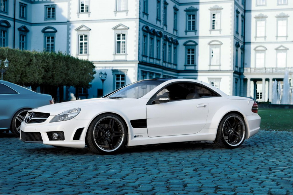 Famous parts mercedes sl500 snow white for Mercedes benz 500sl parts