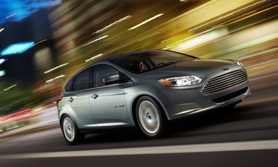 Ford Focus Electric 545x328 at Five Star Safety Rating for Ford Focus Electric
