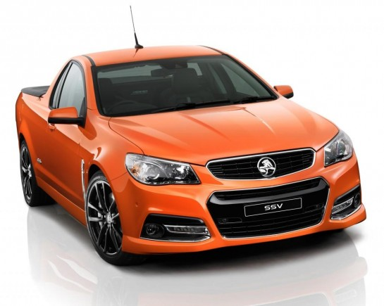 Holden VF Commodore Sportwagon and Ute 1 545x435 at Holden Unveils VF Commodore Wagon and Ute