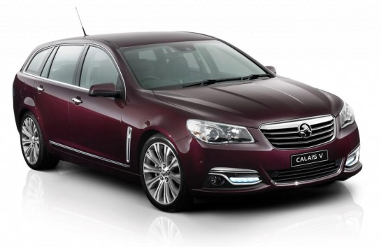 Holden VF Commodore Sportwagon and Ute 2 545x353 at Holden Unveils VF Commodore Wagon and Ute