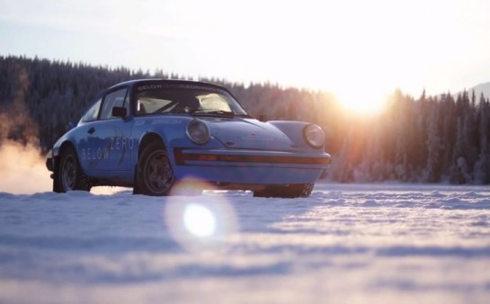 Ice Driving in 911 Rally Cars 545x338 at Chris Harris Goes Ice Driving in 911 Rally Cars
