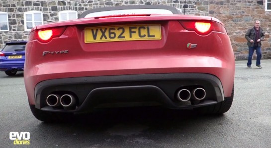 Jaguar F Type V6 V8 545x299 at Up Close with Jaguar F Type V6 and V8 S   Video