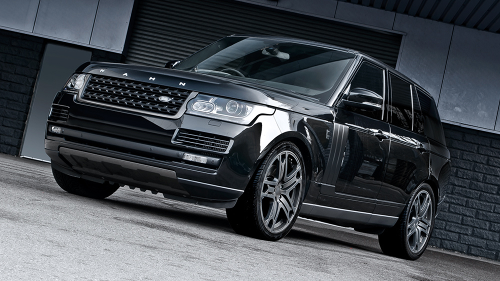 kahn range rover vogue black label edition. Black Bedroom Furniture Sets. Home Design Ideas
