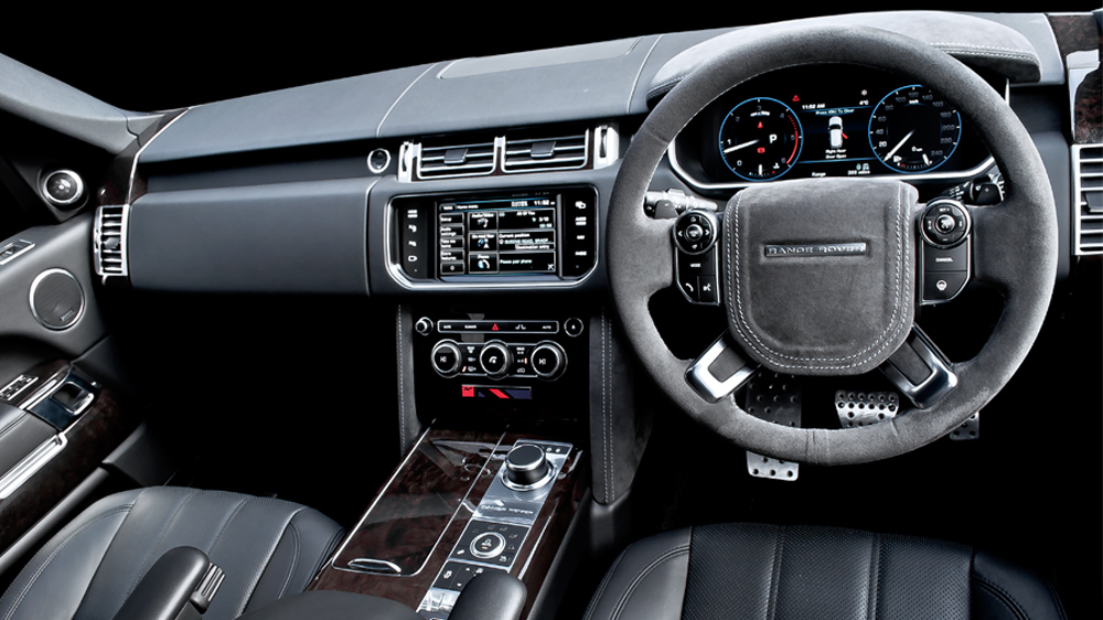 Kahn range rover vogue black label edition for Interieur range rover