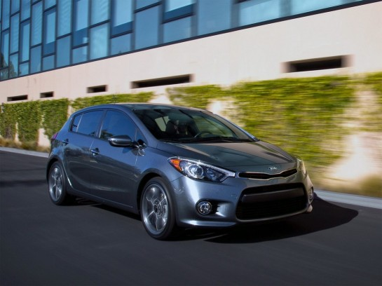 Kia Forte Hatchback 1 545x408 at Kia Forte Hatchback Unveiled