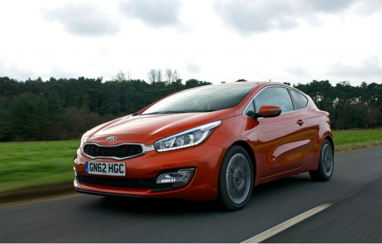 Kia Pro Ceed UK 1 545x349 at 2013 Kia Pro Ceed UK Prices and Specs