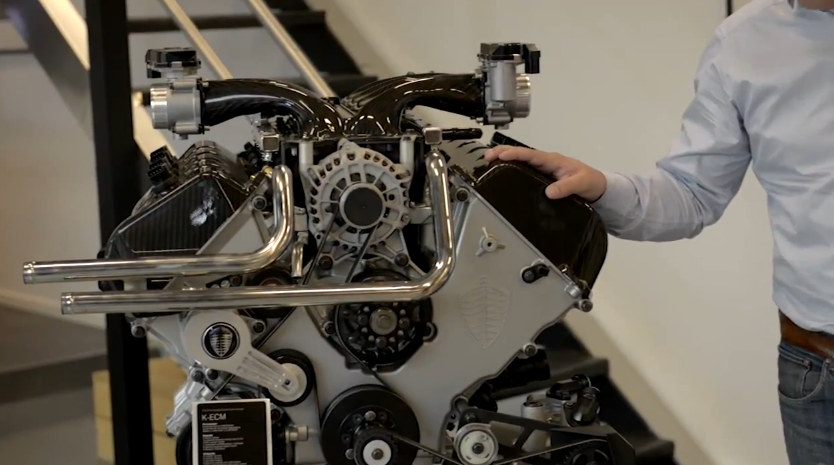 Koenigsegg Agera R V8 Engine in Detail  Video  Motorward