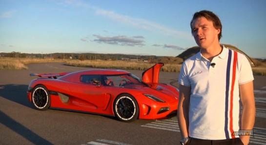 Koenigsegg test driver world 39 s coolest job for Motor vehicle drivers test