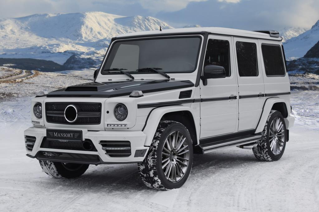 new mansory mercedes g class revealed. Black Bedroom Furniture Sets. Home Design Ideas