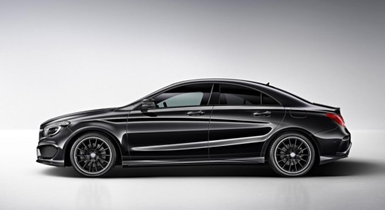 Mercedes Benz CLA Edition 1 1 545x298 at Mercedes CLA Launches with CLA Edition 1