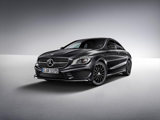 Mercedes Benz CLA Edition 1 2 545x408 at Mercedes CLA Launches with CLA Edition 1