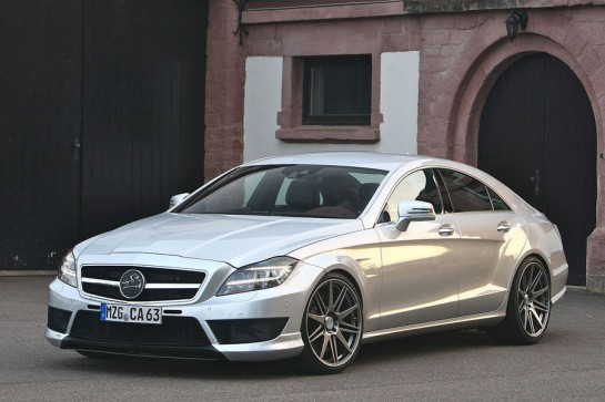 Mercedes CLS63 AMG by Carlsson 2 545x363 at 340km/h Mercedes CLS63 AMG by Carlsson