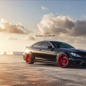 Mode Carbon C63 1 175x175 at Mode Carbon Mercedes C63 on Red ADV1 Wheels