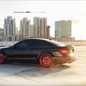 Mode Carbon C63 4 175x175 at Mode Carbon Mercedes C63 on Red ADV1 Wheels