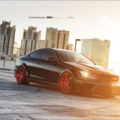 Mode Carbon C63 9 175x175 at Mode Carbon Mercedes C63 on Red ADV1 Wheels