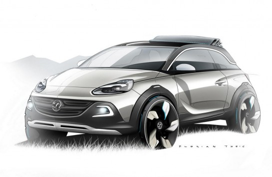 Opel ADAM ROCKS Concept 1 545x354 at Opel/Vauxhall Adam ROCKS Concept Revealed