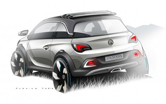 Opel ADAM ROCKS Concept 2 545x342 at Opel/Vauxhall Adam ROCKS Concept Revealed