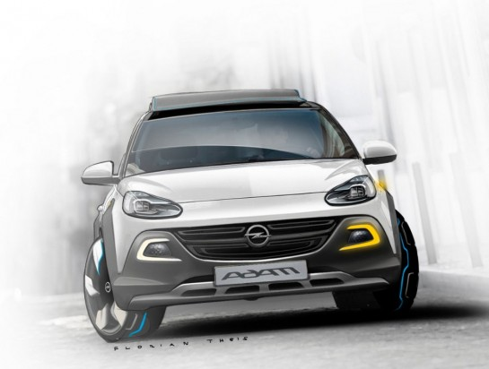 Opel ADAM ROCKS Concept 283347 medium 545x412 at Opel/Vauxhall Adam ROCKS Concept Revealed