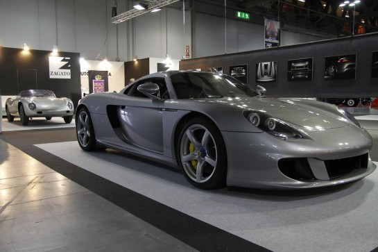 Porsche Carrera GT by Zagato 2 545x363 at One Off Porsche Carrera GT by Zagato   Video