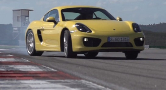 Porsche Cayman S 545x298 at Chris Harris Video: 2013 Porsche Cayman S
