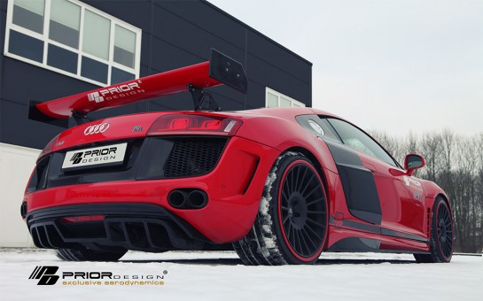 Prior Design Audi R8 Winter Photoshoot 0 545x340 at Gallery: Prior Design Audi R8 Winter Photoshoot