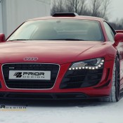 Prior Design Audi R8 Winter Photoshoot 3 175x175 at Gallery: Prior Design Audi R8 Winter Photoshoot